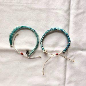 Set of 2 Turquoise PuraVida Bracelets